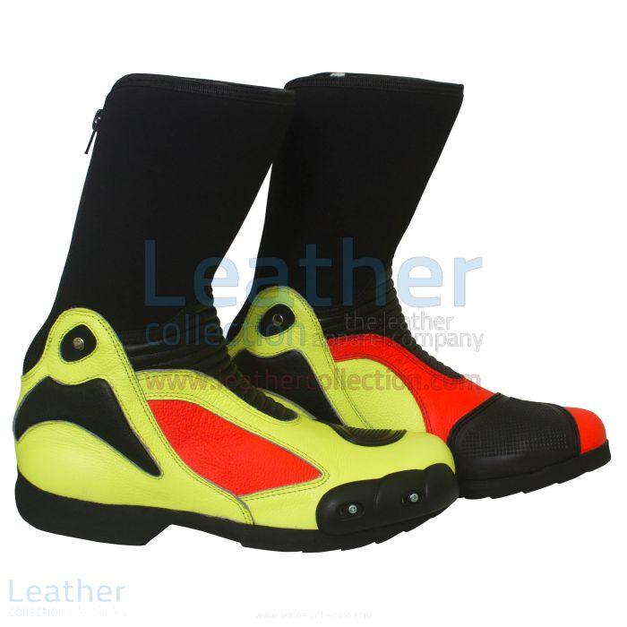 ジャパで¥28,000.00ためにバレンティーノ・ロッシ2011レザーバイカーブーツを主張