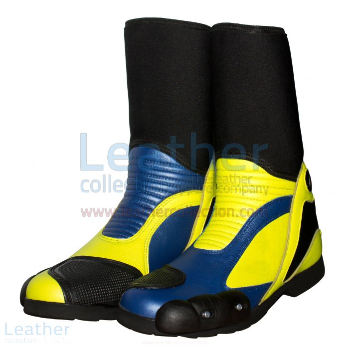 Buy Now Valentino Rossi 2014 Motorcycle Race Boots for A$337.50 in Aus