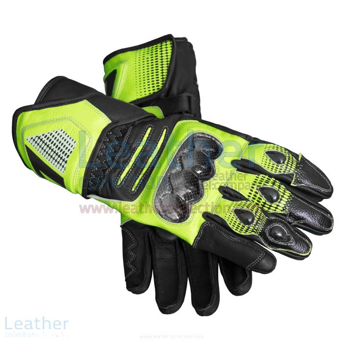 Valentino Rossi Motorcycle Gloves | Buy Now | Leather Collection