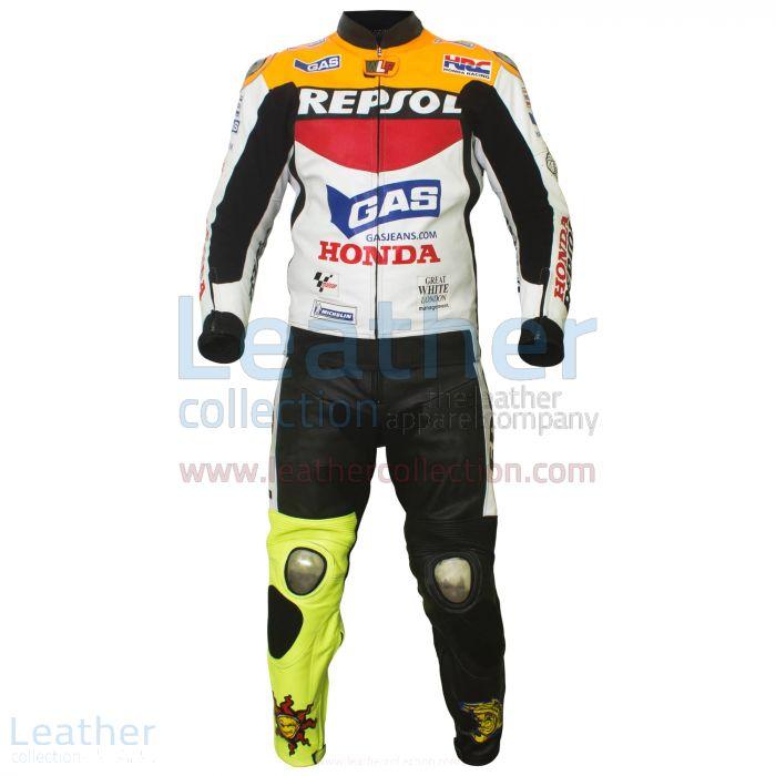 Recógelo Valentino Rossi Repsol Honda MotoGP 2003 Traje Cuero €773.