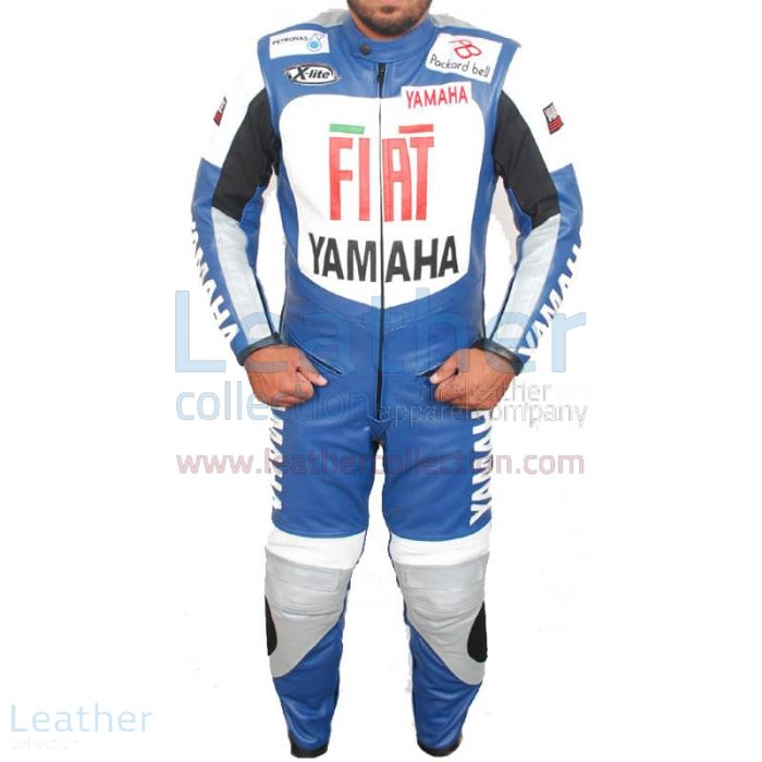 Get Online Yamaha FIAT Motorcycle Racing Leather Suit for $850.00