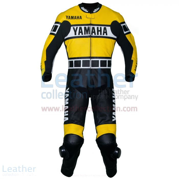 Prendi ora Yamaha Tuta in Pelle da Corsa Giallo €731.00