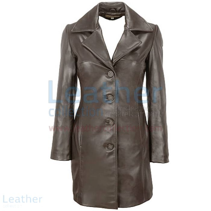 LONG WOMEN TRENCH COAT WITH THINSULATE LINING