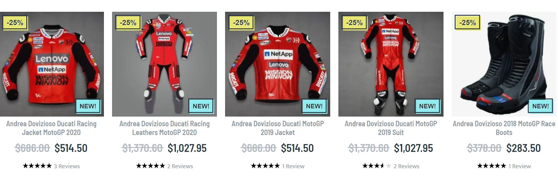 Andrea Dovizioso clothing
