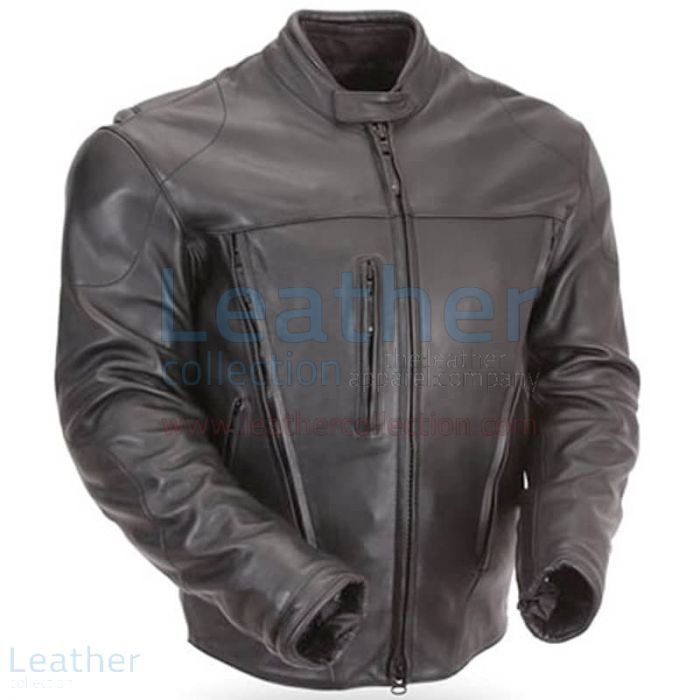 Motorcycle armor leather jackets