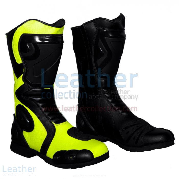 Rossi motorbike boots